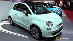fiat 500 2015. 2015 fiat 500 cult exterior and interior walkaround 2014 paris auto show youtube v