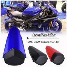 Hot Motorcycle ABS Rear Tail Pillion Passenger Hard Seat Cover ...