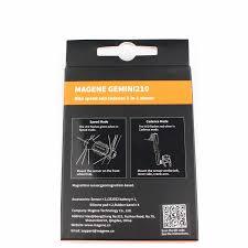 Bryton Wheel Size Chart Magene Gemini 210 Speed Sensor Cadence Ant Bluetooth For