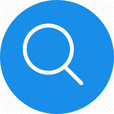 magnifying glass icon blue. Modren Magnifying Throughout Magnifying Glass Icon Blue B
