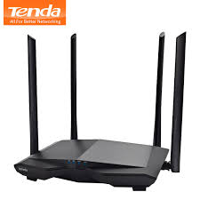<b>Tenda AC6</b> AC1200Mbps Wireless WiFi Router 1WAN+3LAN Ports ...