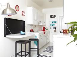 Small Eat In Kitchen Small Eat In Kitchen Ideas Recessed Downlights White Exposed Brick
