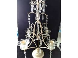 candelabra 24 x11 cream color table top 4 taper candle freepickup chandelier candle holder