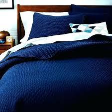 dark blue duvet covers cover linen quilt navy quilts twin set bedrooms blu