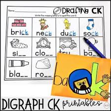 Learning to read starts here. Digraph Ck Phonics Activities And Games