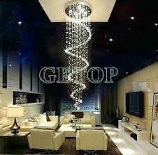 decoration luminaire modern crystal chandeliers luxury er pendant lamp designer ceiling chandeliers ball spiral art