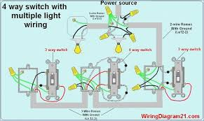 3 way switch wiring diagram multiple lights beamteam co how to wire a 2 way light switch 4 way light switch wiring diagram, 3 way switch wiring diagram multiple lights