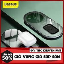 HÀNG HOT} Đế sạc nhanh không dây Baseus Simple 2 in 1 Wireless Charger 15W  giá cạnh tranh