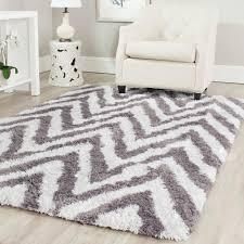 round chevron rug