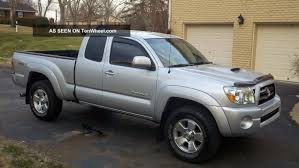 2006 Toyota Tacoma Trd Sport 4x4 Wheel Drive Access Cab 6 Speed ...