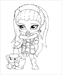 monster high baby coloring pages. Exellent Pages Awesome Monster High Color Page For Abbey Coloring Pages  Little Girl   Inside Monster High Baby Coloring Pages