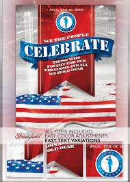 Free Flyer Layout Patriotic 4th Of July Flyer Template 4th Of July Flyers Free