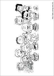 Coloring Peanuts Coloring Pages Peanut Characters Peanut Coloring