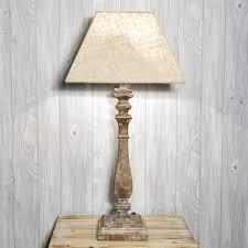 white distressed wood lamps lamp design ideas