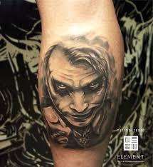 татуировка на голени у парня джокер фото рисунки эскизы