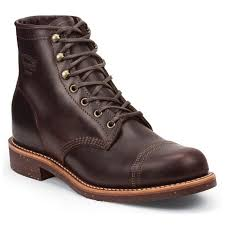 chippewa smith 6 inch cordovan full grain leather utility laceup boot 1901g48