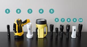 the ten best rechargeable flashlights lineup of all the lights