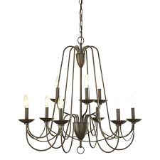chandeliers allen and roth chandelier in 9 light aged bronze chandelier lighting allen roth