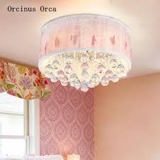 lace crystal led ceiling light princess