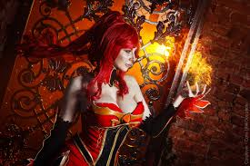 hell fire hell bitch lina dota 2 cosplay by amio mio on deviantart