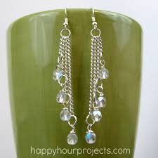 easy cascade dangle earrings from happy hour projects