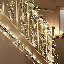 stairs light restaurant meal home lighting decoration. Globe Decorative String Lights, LED Fairy Firecracker Lighting,Tree Lights Waterproof 9.8ft 400 LEDs 8 Modes For Indoor Outdoor Party Wedding Bedroom Stairs Light Restaurant Meal Home Lighting Decoration I