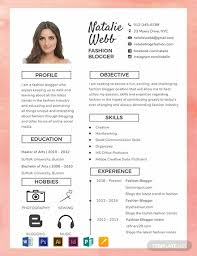 Fre Cv Templates Free Best Fashion Cv Template Word Psd Indesign