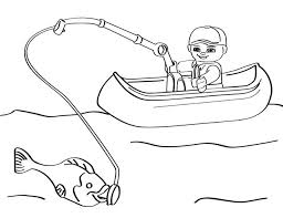 Fishing Coloring Pages Printable 2 23928