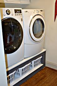 build this diy laundry room pedestal for the storage every laundry room needs thediybungalow