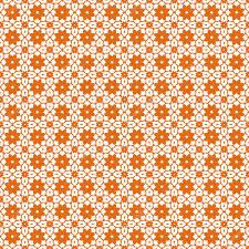 seamless vintage wallpaper pattern orange. Delighful Seamless Seamless Color Pattern With Abstract Geometric Design Retro Wallpaper Vintage  Seamless Pattern White And Orange Ornament U2014 Vector By Tanyaplyshka With Wallpaper Pattern Orange