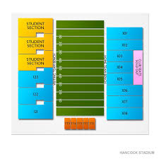 Hancock Stadium Seating Chart Hancock Stadium 2019 Seating Chart