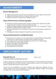 Resume Event Planner Resume Sample