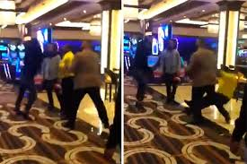Casino Security Casino Security Guard Tkod By Angry Gambler In Shocking Video