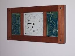 crafts craftsman wall clocks