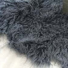 faux sheepskin rug runner faux fur rug bed runner quatro dark charcoal grey floor runner area