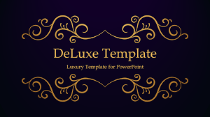 Free Themes For Google Slides Deluxe Luxury Powerpoint Template
