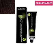 L Oreal Inoa Colour Chart Loreal Professionnel Inoa Hair Colour No 4 35 Golden Mahogany Brown 60g