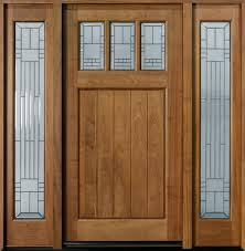 Download Entry Door Custom Single With Two Sidelites Solid Wood ...