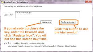 Business Check Printing Software How To Register Ezcheckprinting