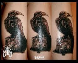 ворон татуировки Rustattooru рязань