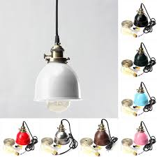details about retro vintage light ceiling fixture pendant holder cafe bar hanging shape e27