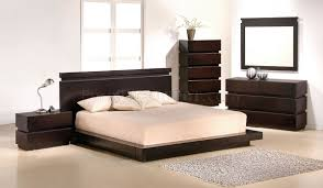 Knotch Bedroom by J&M Cappuccino Finish Contemporary