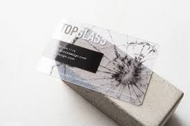 Translucent Plastic Business Cards Clear Uv Print White Ink Plastic Credit Card Size Business