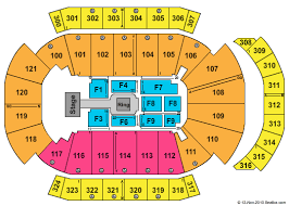 Jacksonville Veterans Memorial Arena Seating Chart Wwe