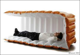 must have office accessories. Nappak- Inflatable Sleeping Cube Must Have Office Accessories O