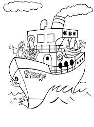 Kleurplaat Sinterklaas Stoomboot