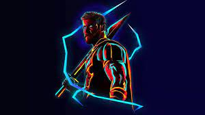Thor Neon Wallpapers - Wallpaper Cave