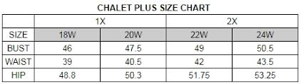 Iris Size Chart Iris Pants