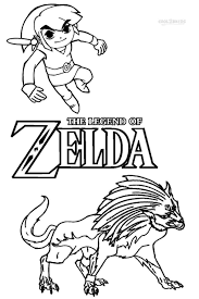 Luxury Of Zelda Twilight Princess Coloring Pages Photograph