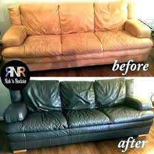 painting leather furniture dye couch bonded chalk paint faux chair furni